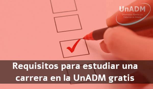Requisitos UnADM