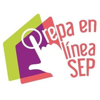 Logo Prepa en línea SEP