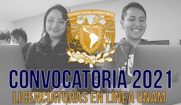 Convocatoria 2021 UNAM
